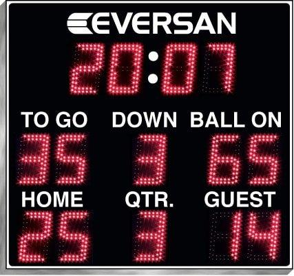 Portable Football Scoreboard 9600