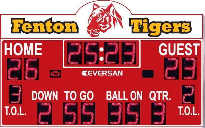 Football Scoreboard Model 9360