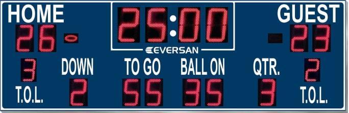Football Scoreboard Model 9362