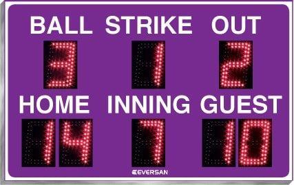 Portable Baseball Scoreboard 9108