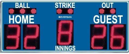 Baseball scoreboard model 9175