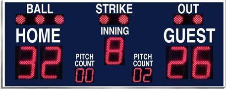 Baseball Scoreboard model 9176