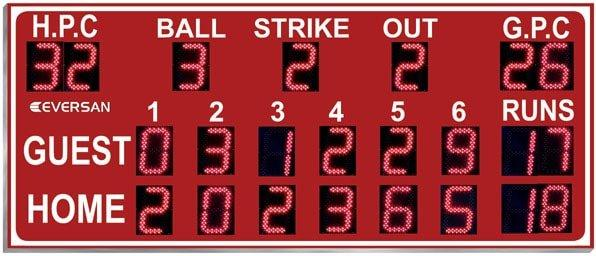Little League Scoreboard Model 9266