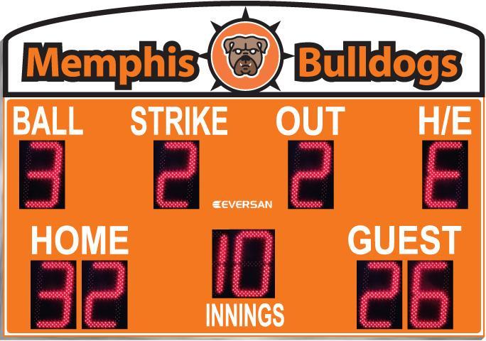 Baseball Scoreboard Model 9376