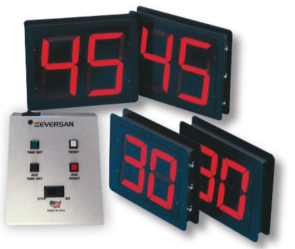 Basketball shot clocks