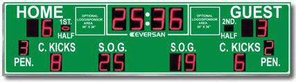 Soccer Stadium Scoreboard Model 9362l-so