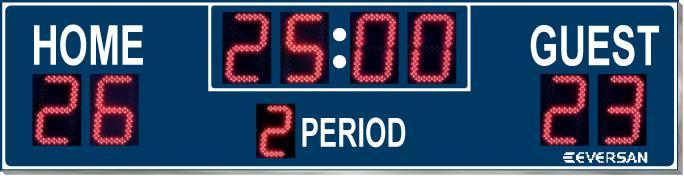 Soccer Scoreboard Model 9380