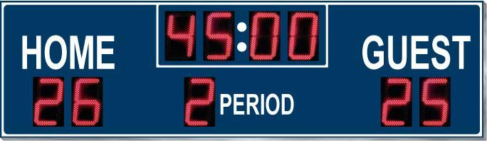 9384L Multi-Sport Scoreboard