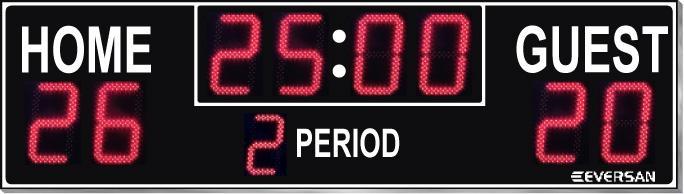Soccer Scoreboard Model 9384