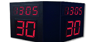 Basketball Shot Clocks - 4 Sided
