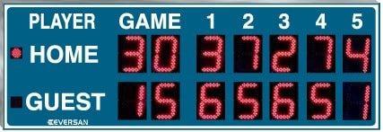 Tennis Scoreboard Model 9008