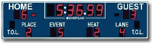 Track & Multi Sport Scoreboard 9362l-100tr